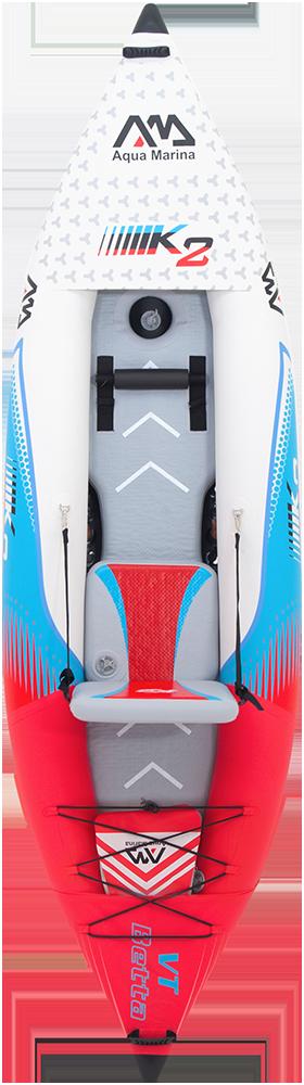 קיאק מתנפח מקצועי Betta VT-312 K2 inflateable kayak