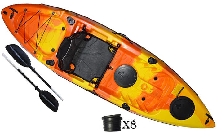 קיאק דייג מקצועי מדגם Stinger
