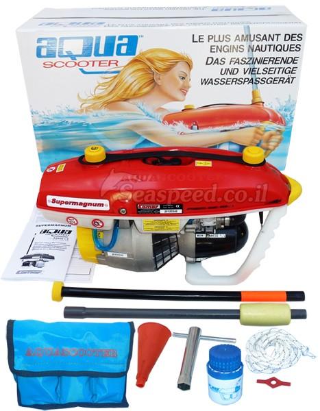 AquaScooter Super-Magnum אקווה סקוטר לצלילה ושחייה מדגם