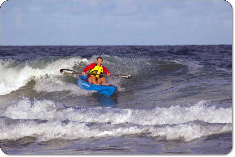קיאק מהיר Emotion Exhilarator - גלישת גלים