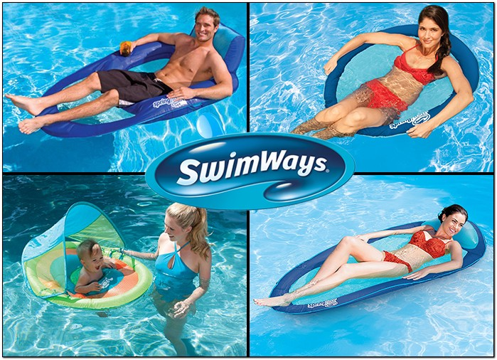 מוצרים מתנפחים איכותיים לבריכה SWIMWAYS