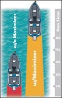 מנועים - מנוע חשמלי ימי לסירות ולקיאקים Vector